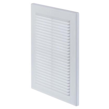 Решетка вентиляционная Вентс МВ 125 ВДс 182x251 мм цвет белый