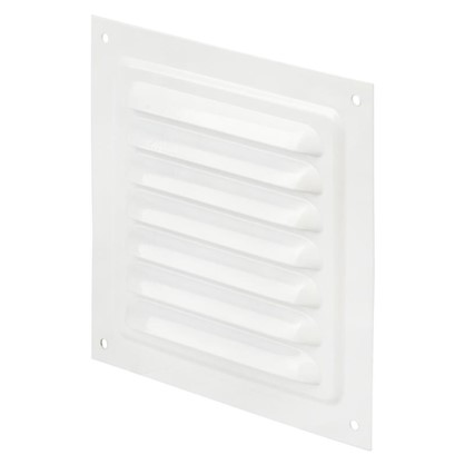 Решетка вентиляционная Вентс МВМ 125 с 125х125 мм цвет белый