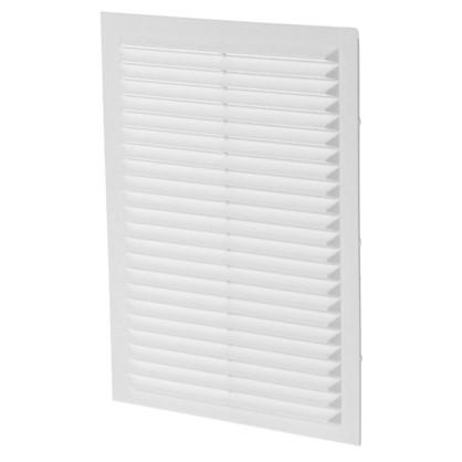 Решетка вентиляционная вытяжная АБС 1724С 170х240 мм цвет белый