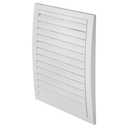Решетка вентиляционная вытяжная АБС 2030РР 200х300 мм цвет белый