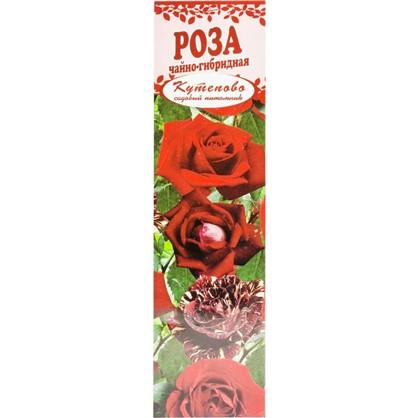 Роза чайно-гибридная Чёрная магия в коробке