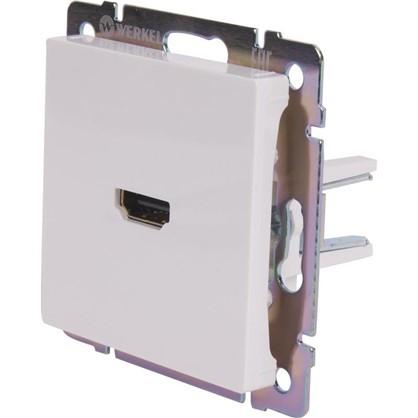 Розетка HDMI WL01-60-11 цвет белый