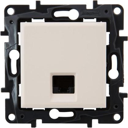 Розетка компьютерная Legrand Structura RJ45 UTP категория 5E цвет слоновая кость