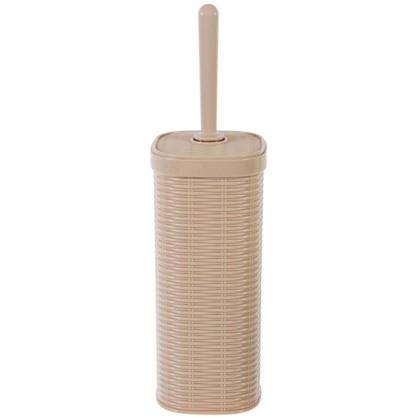 Ершик для унитаза напольный Swensa Rotang пластик цвет бежевый