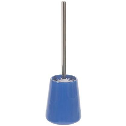 Ершик для унитаза напольный Veta керамика цвет синий