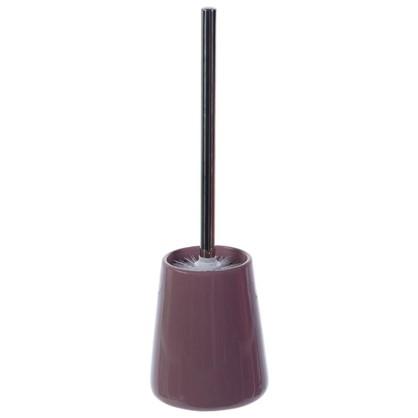 Ершик для унитаза напольный Veta керамика цвет сиреневый
