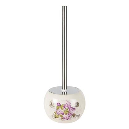 Ершик для унитаза напольный Vidage Violetta керамика цвет белый