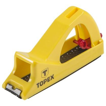 Рубанок-рашпиль по гипсокартону Topex 140 мм