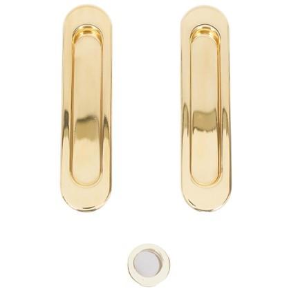 Ручка для раздвижных дверей SH010-GP-2 цвет золото