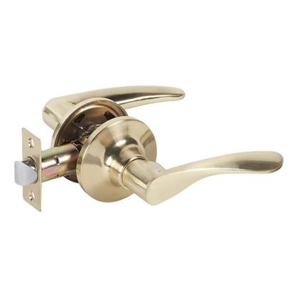 Ручка дверная фалевая 825 sbps без запирания цвет матовое золото
