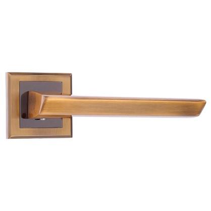 Ручка дверная на розетке Bussare Aspecto A-64-30 алюминий цвет кофе