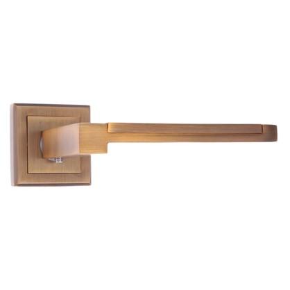 Ручка дверная на розетке C59QX3 цвет матовый кофе