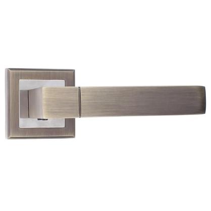 Ручка дверная на розетке Фабрика замков A 205 цвет графит