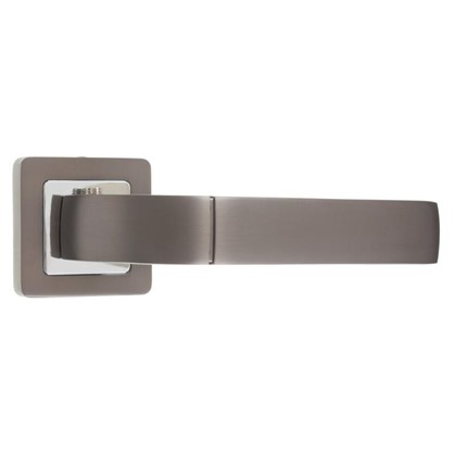 Ручка дверная на розетке ORION QR/HD GR/CP-23 цвет графит/хром