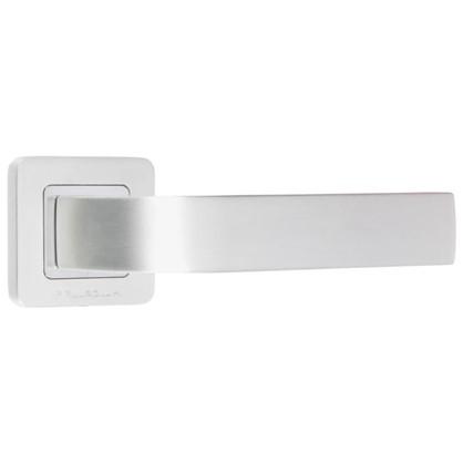 Ручка дверная на розетке Palladium Kernel цвет палладий
