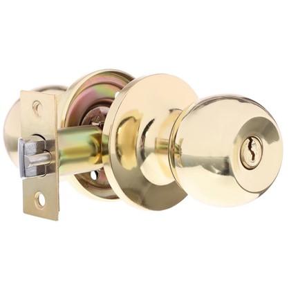 Ручка-кноб 3087 с ключами цвет золото