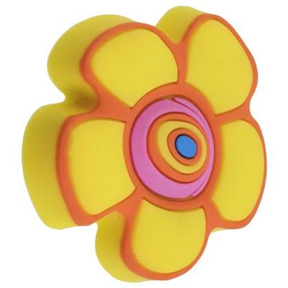Ручка-кнопка Element Цветок силикон цвет мультиколор