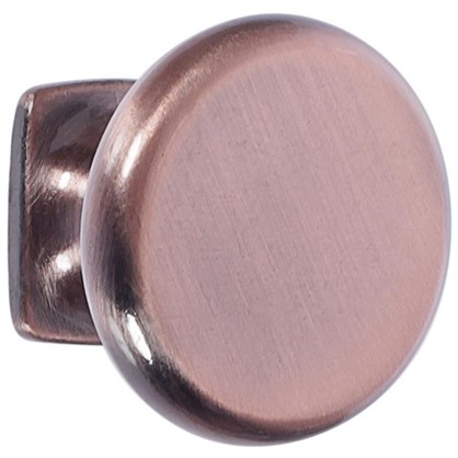 Ручка-кнопка RK-048 ЦАМ цвет медь
