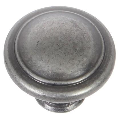 Ручка-кнопка RK-097 ЦАМ цвет старинный черный цинк