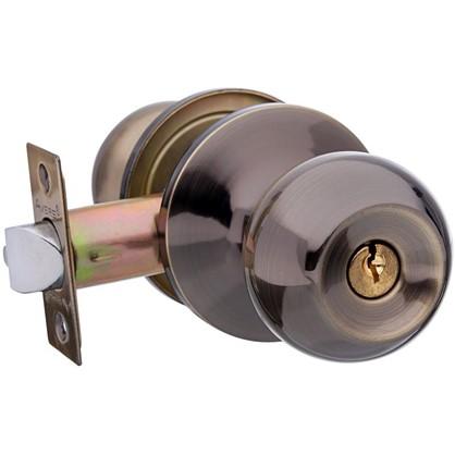 Ручка-защелка Avers 6072-01-AB с ключом и фиксатором сталь цвет античная бронза