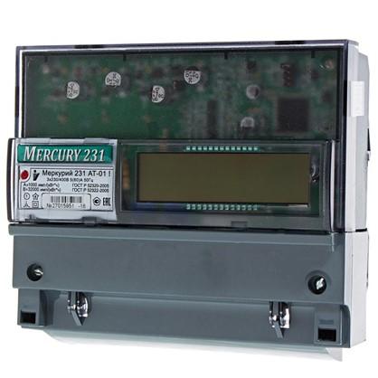 Электросчетчик Меркурий 231 АТ-01 трехфазный