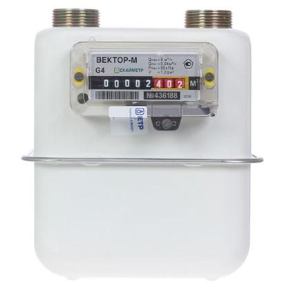 Счётчик для газа Вектор 4 диафрагменный левый
