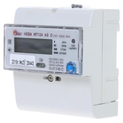 Электросчетчик Нева МТ 124 ASO 5(60)А однофазный