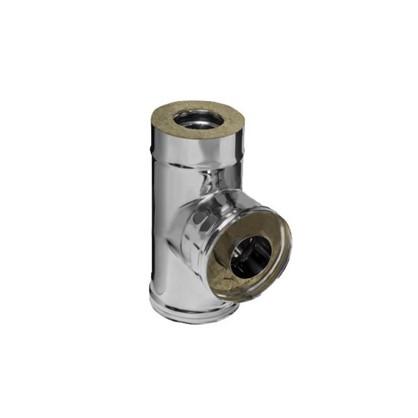 Сэндвич-тройник 90 430/0.8 мм D150х210 мм