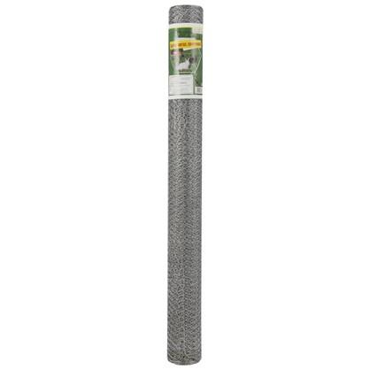 Сетка металлическая плетеная 1х10 метров диаметр 13 мм