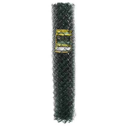 Сетка Рабица материал ПВХ размер ячейки 50х50 мм размер сетки 1.5х10 м