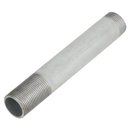 Сгон удлиненный d 25 мм L 0.2 м оцинкованный сталь