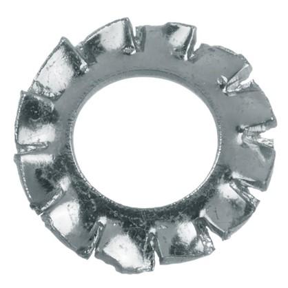 Шайба зубчатая DIN 6798 5 мм 15 шт.