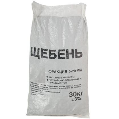 Щебень фракция 5-20 мм 30 кг