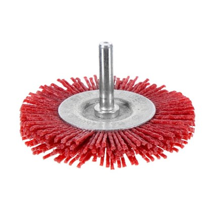 Щетка для дрели дисковая Dexter 75 мм нейлоновая