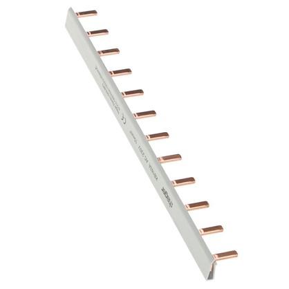 Шина гребенчатая Hager 1 полюс 12 модулей медь