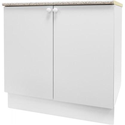 Шкаф напольный Бьянка Д с фасадом 86х80 см цвет белый