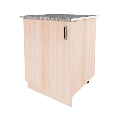 Шкаф напольный Дуб Молочный Д 86х60 см цвет дуб