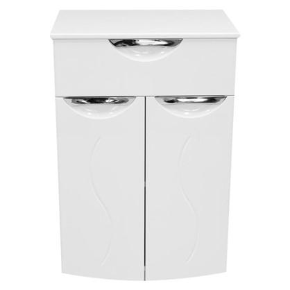 Шкаф для ванной напольный Глория 50 см