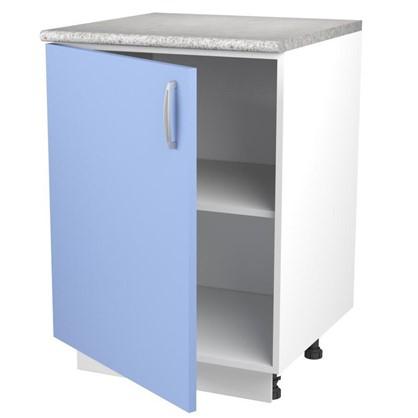 Шкаф напольный Лагуна Д 86х60 см цвет голубой
