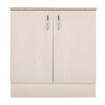 Шкаф напольный Рондо 80-85х80 см МДФ цвет белый
