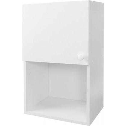 Шкаф навесной Бьянка Д с фасадом 67.6х40 см цвет белый