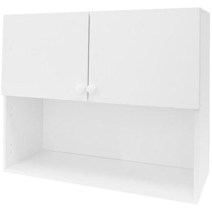 Шкаф навесной Бьянка Д с фасадом 67.6х80 см цвет белый