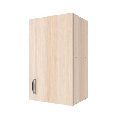 Шкаф навесной Дуб Молочный Д 67.6х40 см цвет дуб