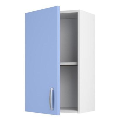 Шкаф навесной Лагуна Д 566х40 см цвет голубой
