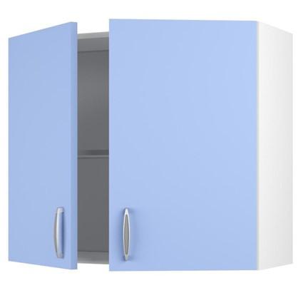 Шкаф навесной Лагуна Д 67.6х80 см цвет голубой