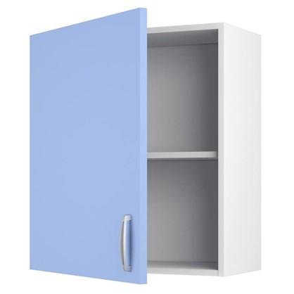 Шкаф навесной Лагуна Сп 68х60 см цвет голубой