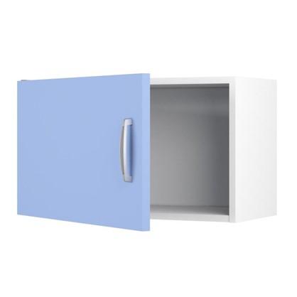 Шкаф навесной над вытяжкой Лагуна Сп 35х60 см цвет голубой
