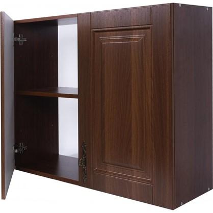 Шкаф навесной Орех Р 68х80 см МДФ цвет орех