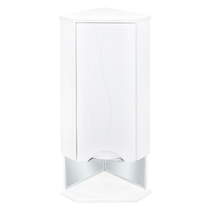 Шкаф для ванной подвесной угловой Лагуна правый 36 см