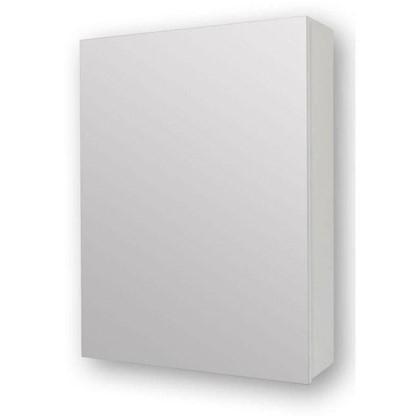Зеркальный шкаф 40 см цвет белый